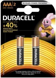 Duracell Alkaline Long Lasting Power Batteries 2xAAA
