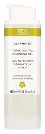 Ren Clarimatte T Zone Control Cleansing Gel 150ml