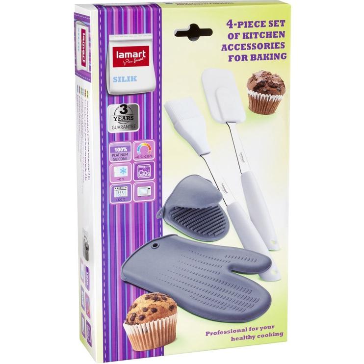 Lamart Silik Silicone Baking Utensils LT 3017