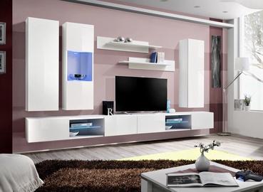 ASM Fly Q5 Living Room Wall Unit Set White