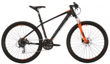 """Jalgratas SUPERIOR XC 857 16"""" 27.5"""" Black Orange 17"""