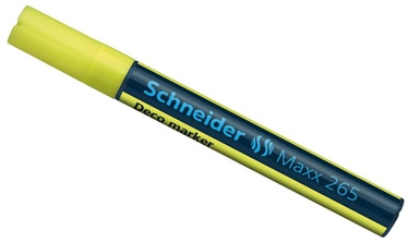 Schneider Pen Maxx 265 Liquid Chalk Marker Yellow 126505