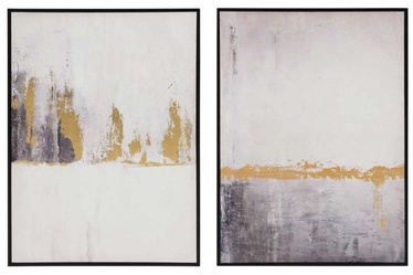 4Living Pictures 57x77cm Gold