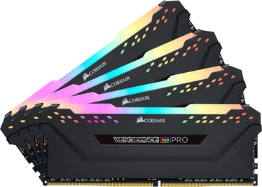Corsair Vengeance RGB PRO Black 32GB 3200MHz CL16 DDR4 KIT OF 4 CMW32GX4M4Z3200C16