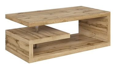 Black Red White Glimp Coffee Table Wotan Oak