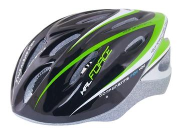 Force HAL Helmet Black/Green/White S/M