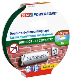 Tesa Double Sided Mounting Tape 19mm 1.5m