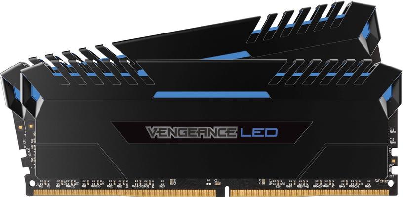 Corsair Vengeance BLUE LED 32GB 3200MHz CL16 DDR4 KIT OF 2 CMU32GX4M2C3200C16B