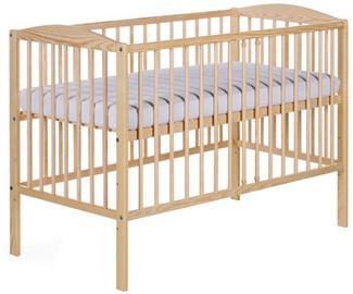 Детская кровать Klups Radek II Pine, 120x60 см
