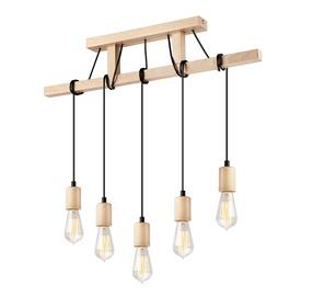 Lamkur Lamp Leon LM5.97 5x60W Wood