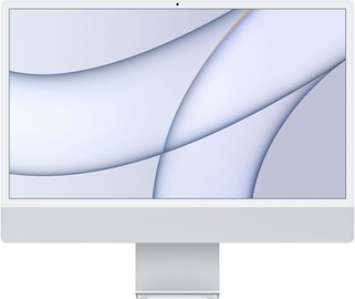 "Apple iMac / MGPC3RU/A / 24"" Retina 4.5K / RUS / M1 8-Core GPU / 8GB RAM / 256GB Silver"
