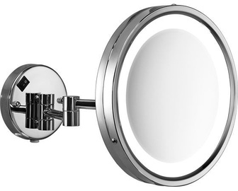 Gedy Vincent Magnifying Mirror 5x w/ LED Light Chrome