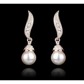 Vincento Earrings With Swarovski Elements PE-1016