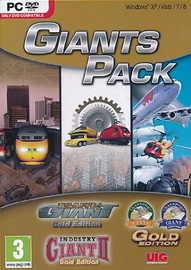 Giants Pack incl. Traffic Giant, Industry Giant II and Transport Giant PC
