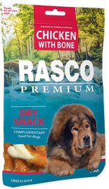 Rasco Dog Premium Snacks Chicken With Bone 80g