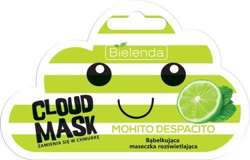 Bielenda Cloud Mask Illuminating Bubble Mask Mohito Despacito 6g