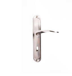 Domoletti Door Handle A52014 Key Plate 72m Matt Nickel