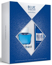 Antonio Banderas Blue Seduction 100ml EDT + 150ml Deodorant Spray