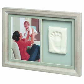 Baby Art Tiny Touch Wooden Wall Print Frame Stormy