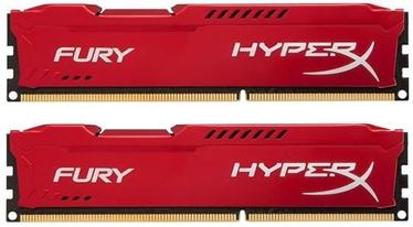 Kingston 8GB DDR3 PC14900 CL10 DIMM HyperX Fury Red Series KIT OF 2 HX318C10FRK2/8