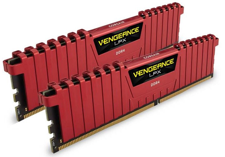 Corsair Vengeance LPX 32GB 2666MHz DDR4 CL16 DIMM KIT OF 2 CMK32GX4M2A2666C16R