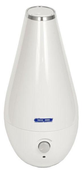 Tech-Med TM Lotos Ultrasonic Air Humidifier White