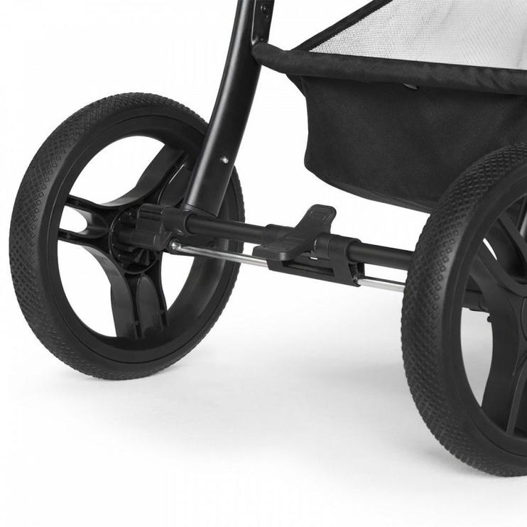 Jalutuskäru KinderKraft Cruiser, must/hall