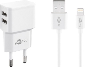 Goobay Apple Lightning Dual Charger White