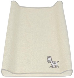 Ceba Baby Changing Mat Cover 50x70 Zebra Grey