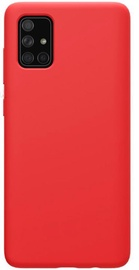 Evelatus Soft Touch Back Case For Samsung Galaxy A51 Red