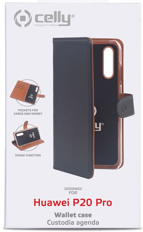 Celly Wally Case For Huawei P20 Pro Black