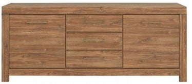 Комод Black Red White Gent 85x200x45cm Stirling Oak