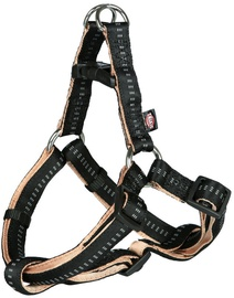 Trixie Softline Elegance One Touch Harness M Black/Beige