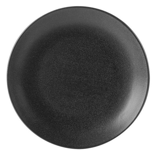 Porland Seasons Dinner Plate D24cm Black