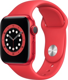 Nutikell Apple Watch Series 6 GPS 40mm PRODUCT(RED) Aluminum PRODUCT(RED) Sport Band