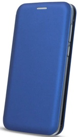 iLike Book Case For Apple iPhone XS Max Navy Blue