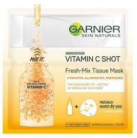 Näomask Garnier Skin Naturals Vitamin C Shot Fresh Mix Tissue Mask, 1 tk