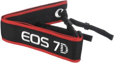 Canon EOS 7D Wide Strap Black/Red
