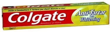 Colgate Anti Tartar Toothpaste With Whitening Toothpaste 75ml