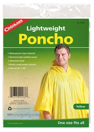 Coghlans Lightveight Poncho Yellow