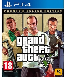 Grand Theft Auto V Premium Online Edition PS4