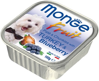 Monge Fruit Turkey/Blueberry100g