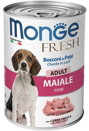 Monge Fresh Chunks Adult With Pork 400g