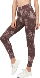 Audimas Printed Functional Tights Misty Rose L