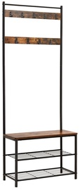 Songmics Vintage Entryway Coat Rack 70x32x175cm