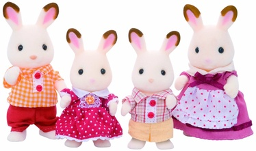 Epoch Sylvanian Families Chocolate Rabbit Family 3125
