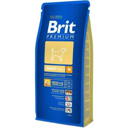 Koeratoit Brit Premium Adult Medium 15 kg