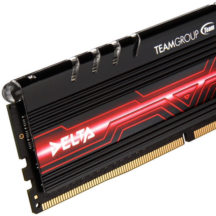 Team Group Delta Red LED 16GB 2400MHz CL15 DDR4 KIT OF 2 TDTRD416G2400HC15ADC01