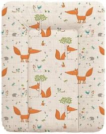 Ceba Baby Soft Changing Mat Small Fox Ecru