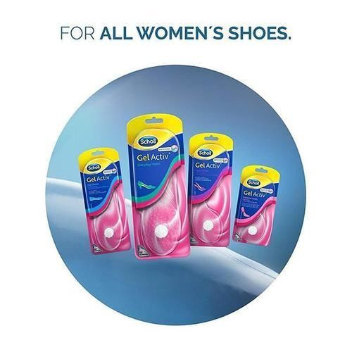 Scholl Gel Activ Flat Shoes Insoles